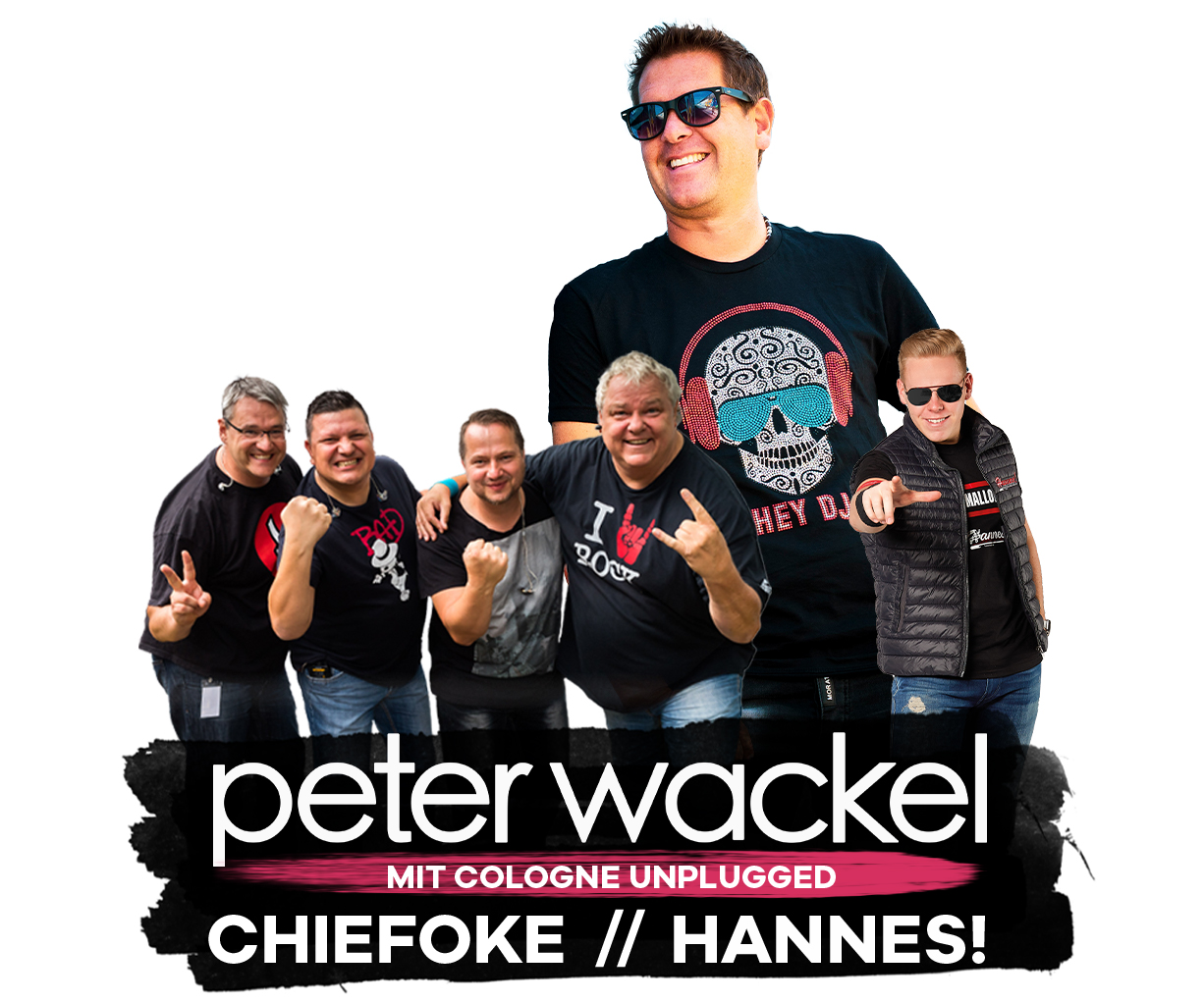 PETER WACKEL / CHIEFOKE / HANNES!